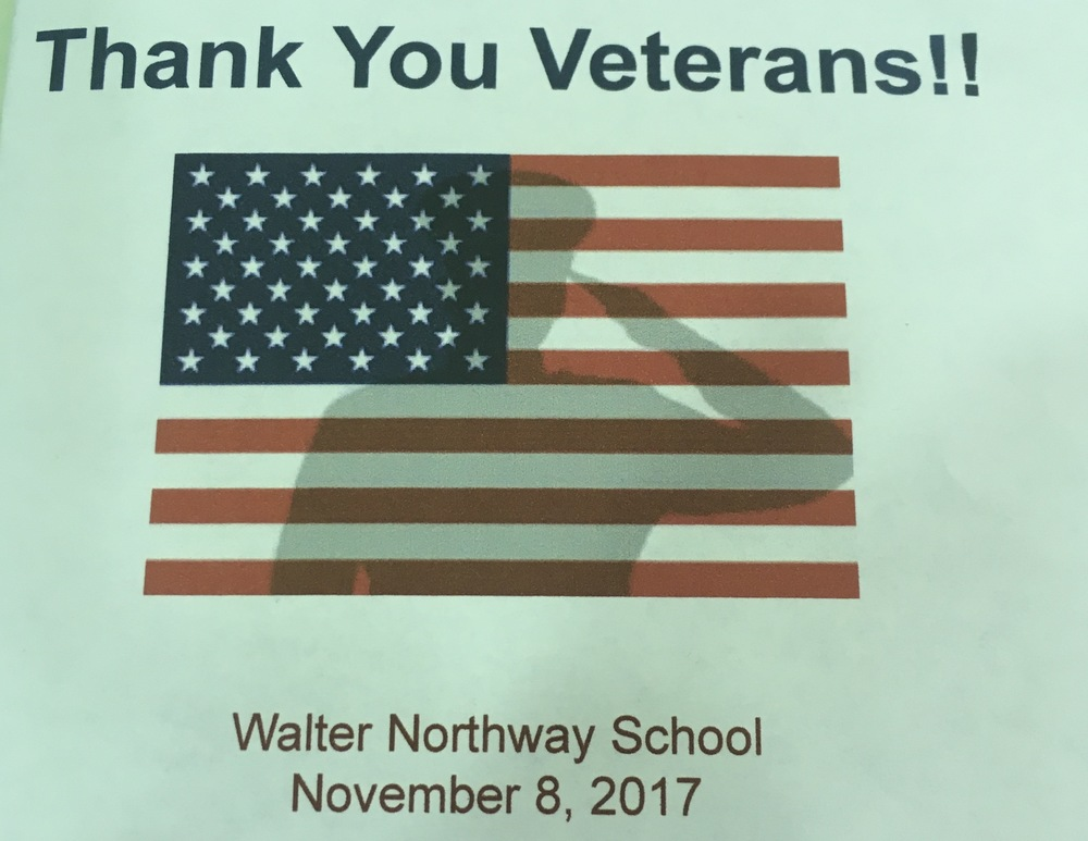 Northway School honors Veteran's