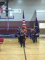 Veteran's Honored at Tok School Assembly
