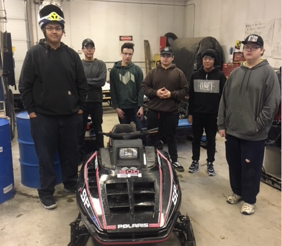 Tok Snowmachine Repair Students Successfully Complete First Job