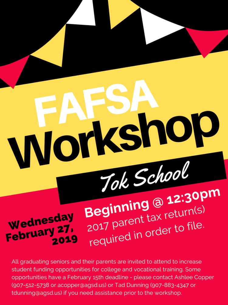FAFSA Workshop on February 27th