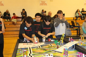 Congratulations to Walter Northway team Lego Warriors