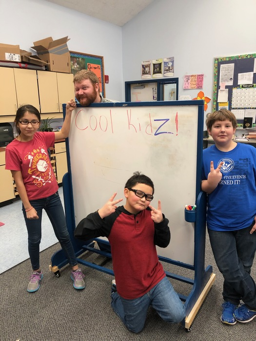5th and 6th Battle of the Books Winners Team Cool Kidz from Eagle