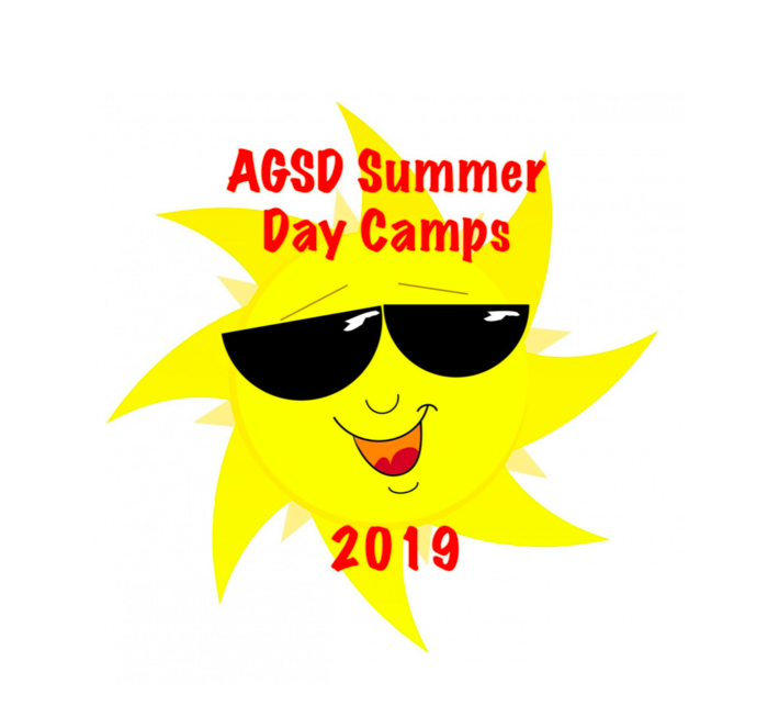 AGSD Summer Day Camps 2019 logo