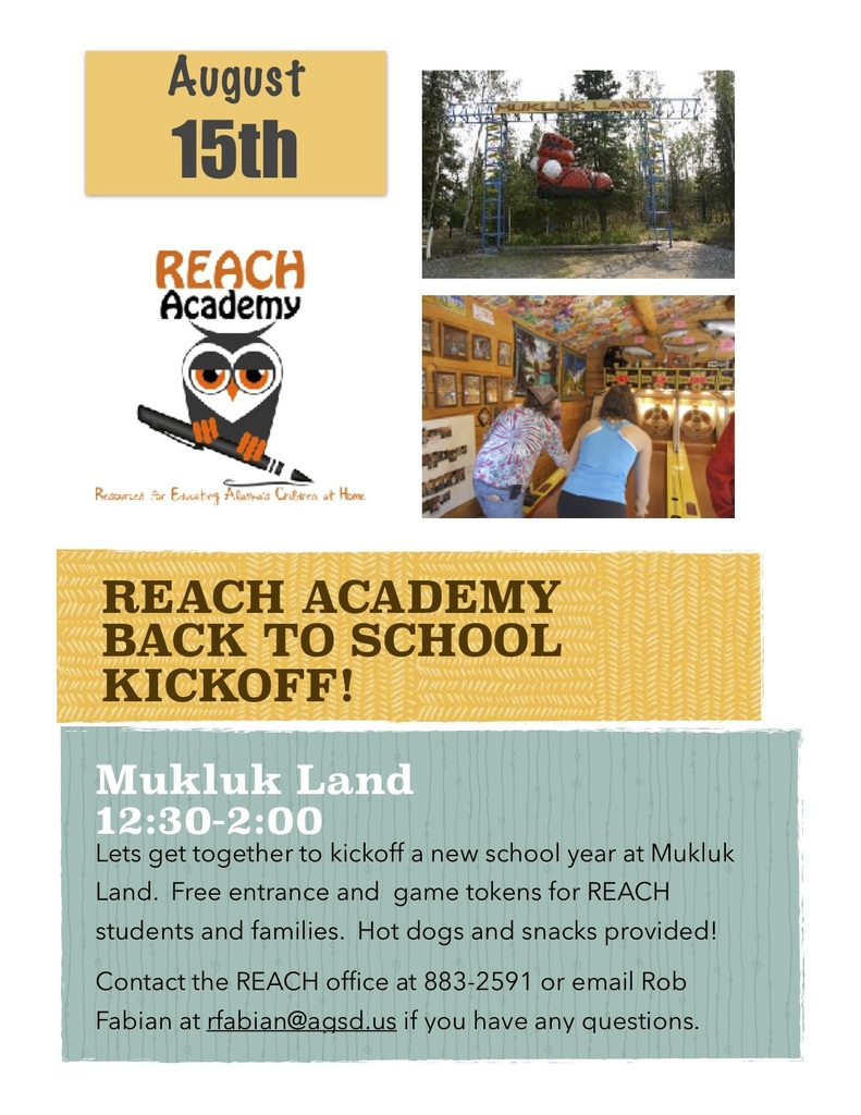 REACH Academy Back to School Kickoff