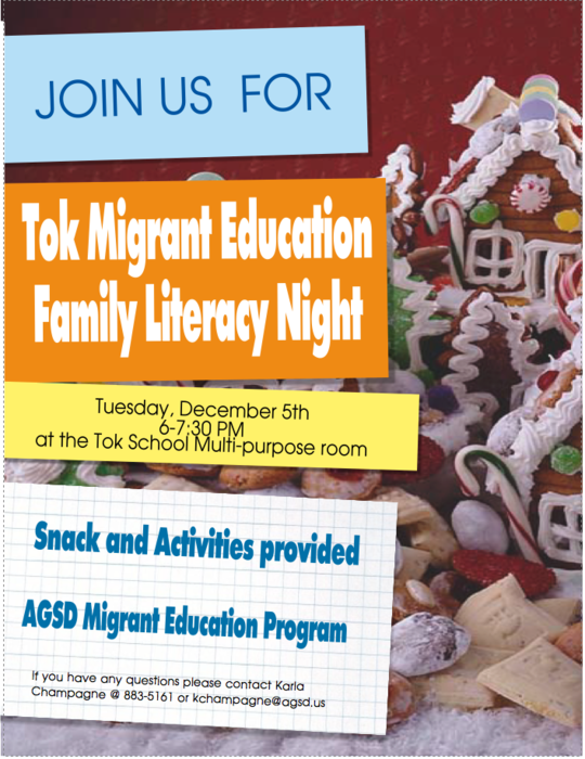 Tok Migrant Family Night