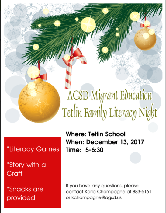 Tetlin Migrant Family Night